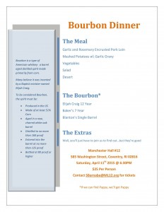 Bourbon and Pork Dinner